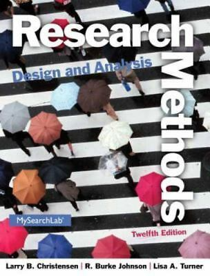 Research Methods Design And Analysis 12E Global Edition