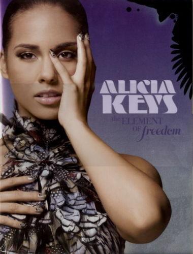 ALICIA KEYS 2010 FREEDOM TOUR VOL. 1 CONCERT PROGRAM BOOK BOOKLET / NMT 2 MINT