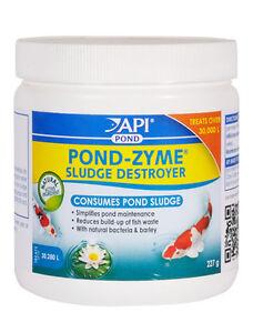 Api pond zyme sludge destroyer every size koi fish water for Koi pond treatment