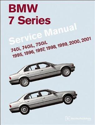 BMW 7 SERIES E38 740 750 i iL 740i 740iL 750iL Owners Repair Manual Handbook Bmw 7 Series Owners Manual