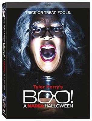 New Madea Halloween Movie (Tyler Perry's Boo! A Madea Halloween Tyler Perry [Horror] [DVD])
