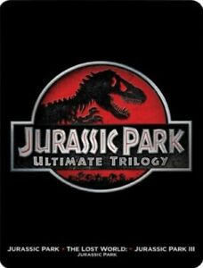 Jurassic Park Ultimate Trilogy [Blu-ray and DVD] Steelbook