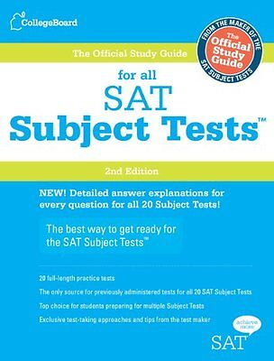 The Official Study Guide For All Sat Subject Tests  2Nd Edition By The College B