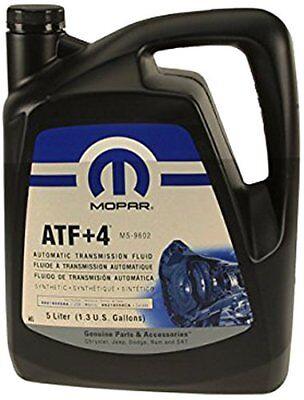 Mopar 68218058AC ATF+4 Automatic Transmission Fluid, 1.3 Gallons