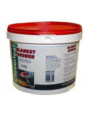 Cloverleaf Blanket Answer 4kg Fish Pond Blanket Weed Filament Algae Treatment