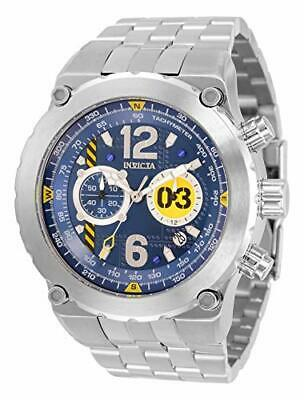 Invicta Men's 31589 Aviator Quartz 3 Hand Blue Dial Watch