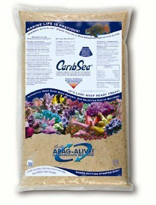 Caribsea Arag-Alive Special Grade Reef Sand, 20-Pound ()