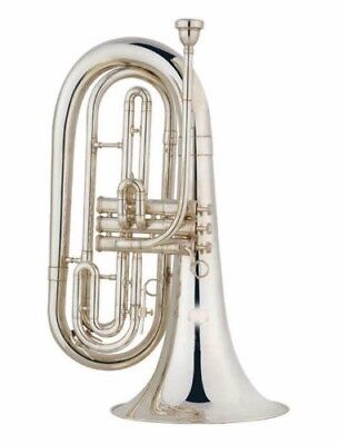 Baritone Horn Outift Bb Key Gold Lacquer New Latest Technology Musical Instruments & Gear Baritones