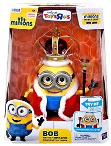 Despicable Me Minions Movie King Bob from Toys r Us