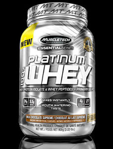 Brand New Muscletech (2lb) Essential Series Platinum 100% Whey