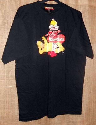 Pyjamas The Simpsons Homer Simpson Set.Shorts  'L'  & T-Shirt  'M'