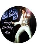 Elvis Cake Toppers Uk