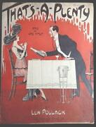 Antique Piano Sheet Music