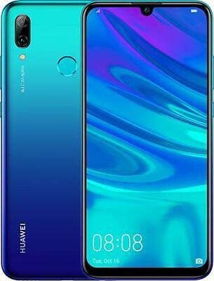 "New Huawei P Smart 2019 Blue  64GB 6.21"" WIFI NFC 3GB RAM Unlocked Smartphone UK"