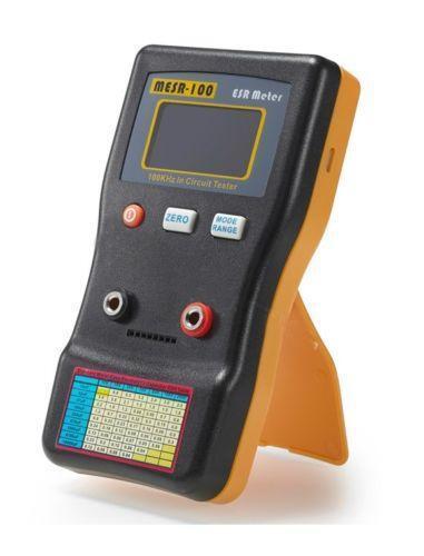 Oscilloscope ESR Tester - Electronics DIY