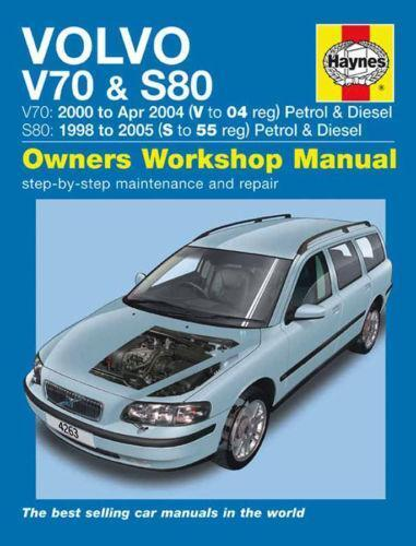 on 2000 Volvo S80 Repair Manual