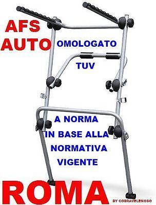PORTABICI POSTERIORE 3 BICI FIAT 500X ANNO 2016 BICI UOMO DONNA MB...