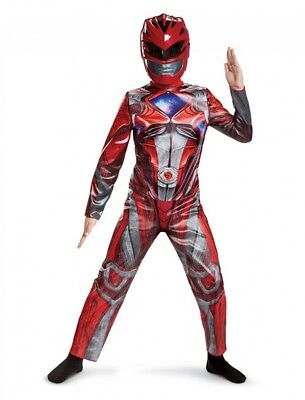 Red Ranger Power Rangers Movie Classic Child Costume