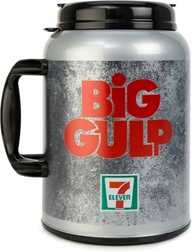 7 Eleven Big Gulp Mug - Whirley 100 oz Insulated Cup - New & Sealed