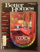 Vintage Better Homes and Gardens Magazine