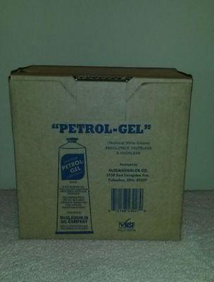 12 - 4 oz. Tubes Petrol Gel Sanitary Lubricant