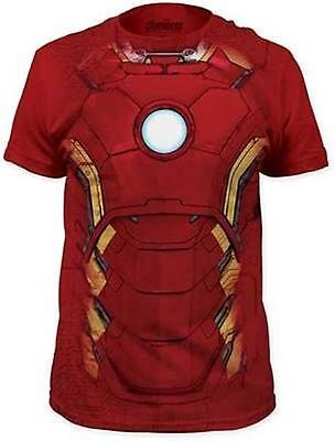 Avengers Age Of Ultron Iron Man Suit Red Stark Marvel Comics T Tee Shirt S-2Xl (Avengers 2 Iron Man Suit)