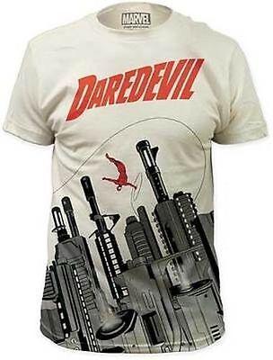 Daredevil Kostüm Symbol Pistole City Hells Küche Marvel Comics T-Shirt Hemd