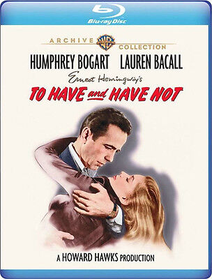 To Have and Have Not 1944 (Blu-ray) Humphrey Bogart, Lauren Bacall -