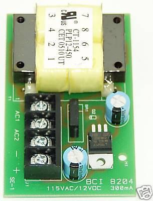 Bryant Bci 8204 Vibratory Feeder Control Power Supply