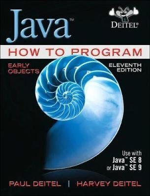 Java How To Program  Early Objects 11Th Global Edition