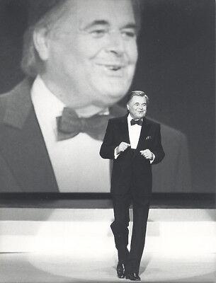 Foto vom Sänger GERHARD WENDLAND - SW Vintage von 1987 - Pressefoto-  Schlager