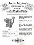 Briggs Model B
