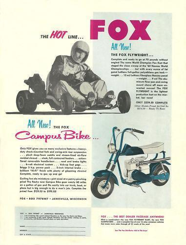 Fox Mini Bike: Parts & Accessories | eBay
