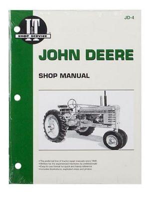 Shop Manual John Deere A B D G H M Mt Tractor