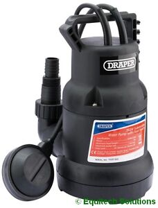 Draper 89310 Submersible Water Pump Automatic Float Switch Garden Pond Cellar