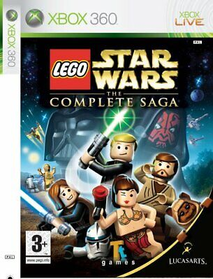LEGO Star Wars The Complete Saga XBox 360 VGC UK Version