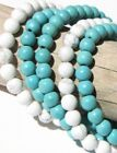 Blue Turquoise Sterling Silver Bracelets for Men