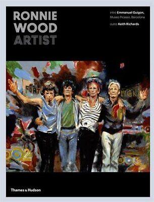Ronnie Wood: Artist by Ronnie Wood New Hardback Book