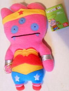 Unique Ugly Doll Plush Toy Batman, Cpt. Kirk, Wonder Woman KISS+