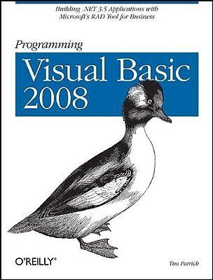 Programming Visual Basic 2008  Build  Net 3 5 Applications With Microsofts Rad
