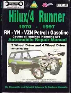 Toyota Hilux/4 Runner******1997 Petrol 2Wd 4WD SR5 Repair Manual Cowra Cowra Area Preview
