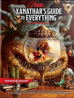 Xanathars Guide To Everything   By Wizards Rpg Team  Hardcover  November 2017