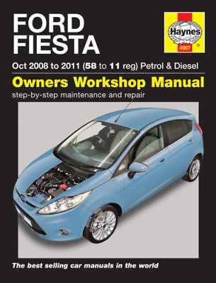 FORD FIESTA  2008 to 2011 NEW Haynes Manual