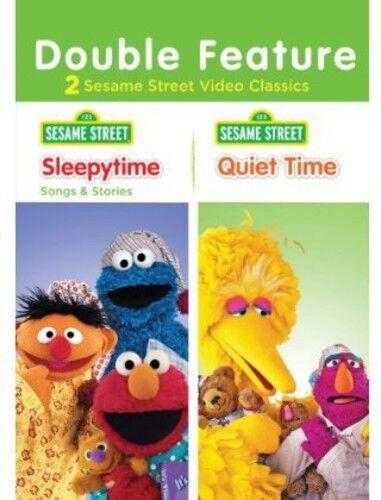 Sesame Street: Sleepytime Songs & Stories/Quiet Time (2013, REGION 1 DVD New)