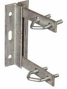 TV Aerial Mounting Bracket  + V Bolts External or Loft Wall Bracket for Pole