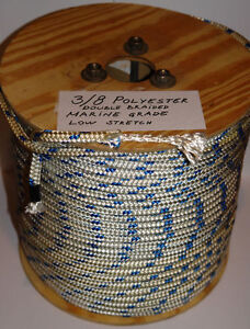 """3/8"""" X 200 PREMIUM DOUBLE BRAIDED POLYESTER ROPE"""