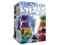 Letting Off Steam - 8 DVD Steam Train Collection - Amazing box set £5