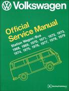 VW Kombi Workshop Manual