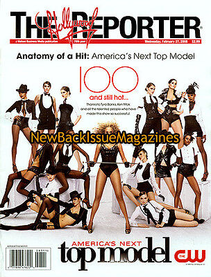 Hollywood Reporter 2 08 Tyra Banks February 2008 New