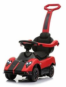 Lisenced Pagani F Roadster 4-in-1 Baby Push Pedal Car